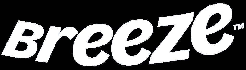 breeze logo white